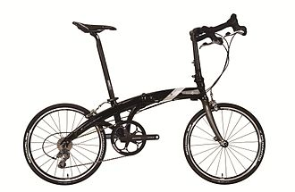 Dahon - Dahon Special Edition, 30th Anniversary, aluminum frame, folding bike with carbon parts