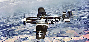 """RAF Steeple Morden - North American P-51B-15-NA Mustang Serial 42-106950 """"The Iowa Beaut"""" of the 354th Fighter Squadron. This aircraft was lost on 11 September 1944 - Capt Kevin G Rafferty KIA."""