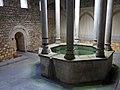 387 Banys Àrabs de Girona, piscina de l'apodyterium.JPG