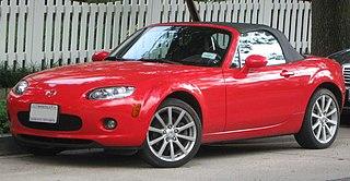Mazda MX-5 (NC) Motor vehicle