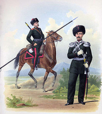 Semirechye Cossacks in 1867 474 Changes in uniforms and armament of troops of the Russian Imperial army.jpg