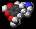 5-Methoxy-MDA molecule spacefill.png