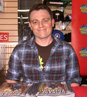 Scott Snyder - Snyder at a signing for Batman: Gates of Gotham at Midtown Comics in Manhattan