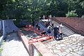 6117 Miniaturowa replika murów obronnych i Bramy Oławskiej przy przejściu Oławskim foto Barbara Maliszewska.jpg