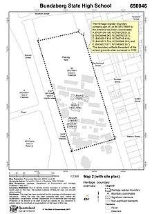 Bundy Campus Map.Bundaberg State High School Wikipedia