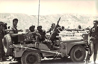 "Israeli reconnaissance forces from the ""Shaked"" unit in Sinai during the war 6 Day War-Amos.jpg"