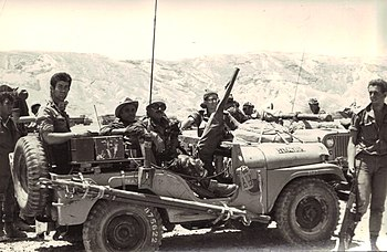 Israeli Sol Rs On The Golan Heights During The 1967 Six Day War