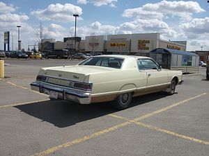 Mercury Grand Marquis - 1975-1978 Mercury Grand Marquis