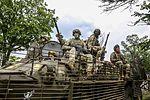 79th airborne brigade Poroshenko-BTR-80.jpg