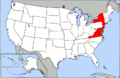 800px-Map of USA highlighting OCA Diocese of Washington and New York.png