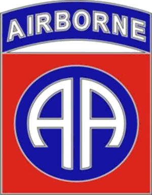 Twelfth United States Army Group - Image: 82nd Airborne Division CSIB