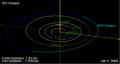 951 Gaspra orbit on 01 Jan 2009.png