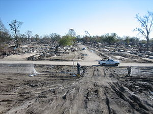 9th Ward of New Orleans - Image: 9th Ward post Katrina