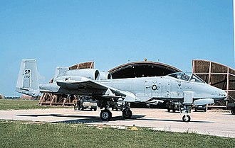52d Operations Group - Fairchild Republic A-10A Thunderbolt II of the 81st FS