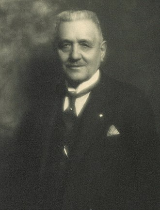 Coppa Bernocchi - Antonio Bernocchi, founder and patron of Bernocchi Cup, Legnano, 1919