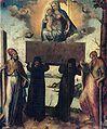 A. Riccio La Madonna dell'Itria, tra i SS. Pietro e Paolo, chiesa di S. Caterina di Valverde Messina.jpg