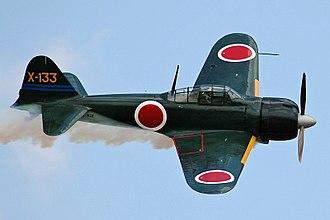 Mitsubishi A6M Zero - Image: A6M3 Zero N712Z 1