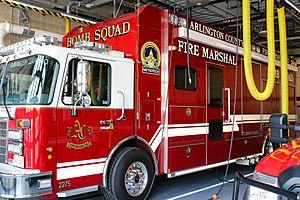 Arlington County Fire Department - Image: ACFD Bomb Squad Command Veh