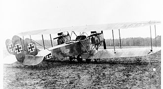 AEG G.II - Image: AEG G.II with triple tail