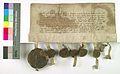 AGAD Wladyslaw, ksiaze bytomski, zobowiazuje sie nie wspierac nikogo przeciw krolowi polskiemu, Kazimierzowi Wielkiemu.jpg