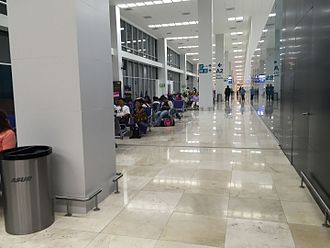 Veracruz International Airport - New Concourse A at the airport.