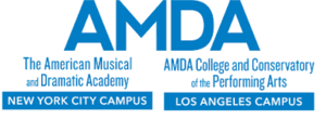 American Musical and Dramatic Academy - Image: AMDA Logo