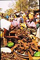 ASC Leiden - W.E.A. van Beek Collection - Dogon markets 09 - Smoked catfish at the Sangha market, Mali 1992.jpg