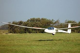 Schleicher ASW 20 - Image: ASW 20 CL landing