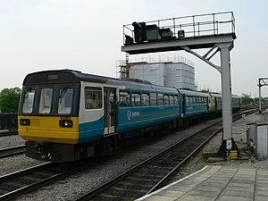 Urban rail in the United Kingdom - Arriva Trains Wales British Rail Class 142 Cardiff commuter train