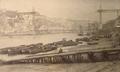A Ponte D. Luís em construção (c. 1884) - Casa Emílio Biel.png