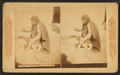 A Pueblo woman sweeping her floor, by Continent Stereoscopic Company.png