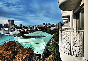 Grand Prince Hotel Takanawa - Image: A View from balcony of Grand Prince Hotel, New Takanawa – Japan (4120516589)