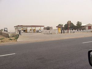 Hadejia - A filling station at Nguru rd, Hadejia