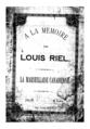 A la memoire de Louis Riel - la Marseillaise canadienne (1885) p1.png