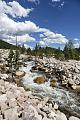 A raging stream in Rocky Mountain National Park in the Front Range of the spectacular and high Rockies in north-central Colorado LCCN2015633337.tif