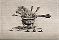A receptacle for burning coal to heat cautery instruments. E Wellcome V0016708.jpg
