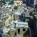 A slum inside Karachi Pakistan, next to upscale Race Course neighborhood December 2009.jpg