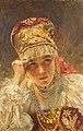 A young boyarina by Konstantin Makovsky.jpg