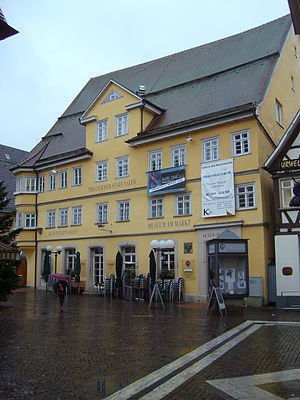 Deutsch: Altes Rathaus in Aalen