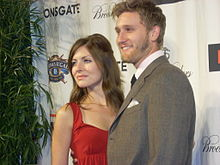 Aaron Staton and wife at a Night on the Town.jpg