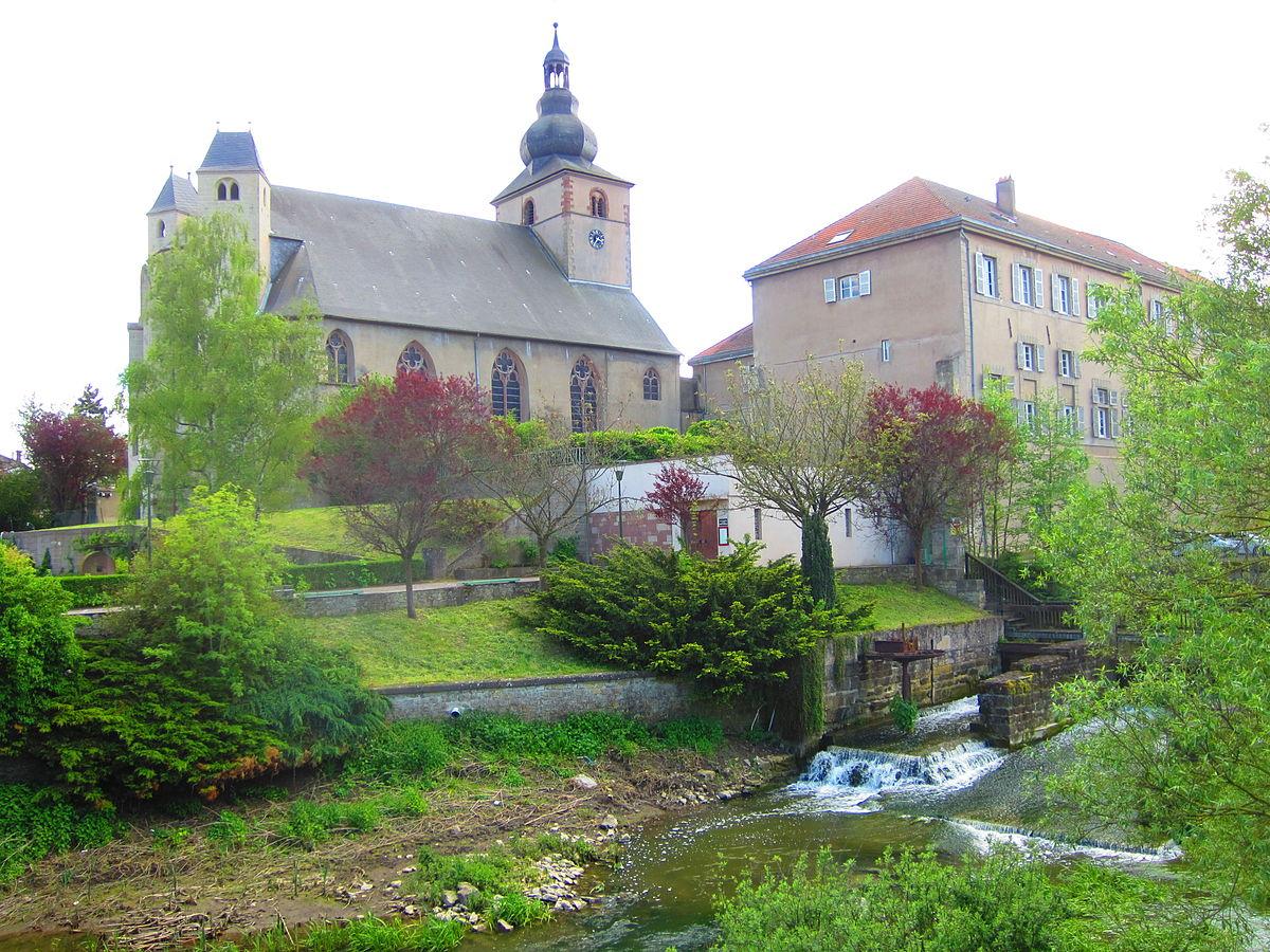 Bouzonville — Wikipédia