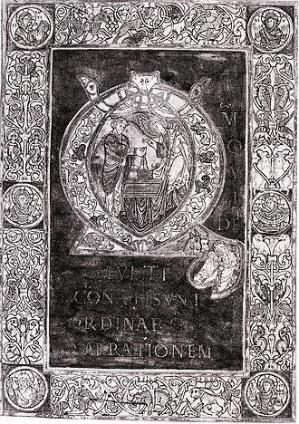 Bertin - Illustration of St. Bertin