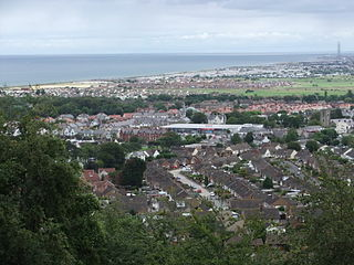 Abergele town in north Wales