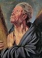 Abraham Grapheus as Saint Andrew, by Jacob Jordaens (I).jpg