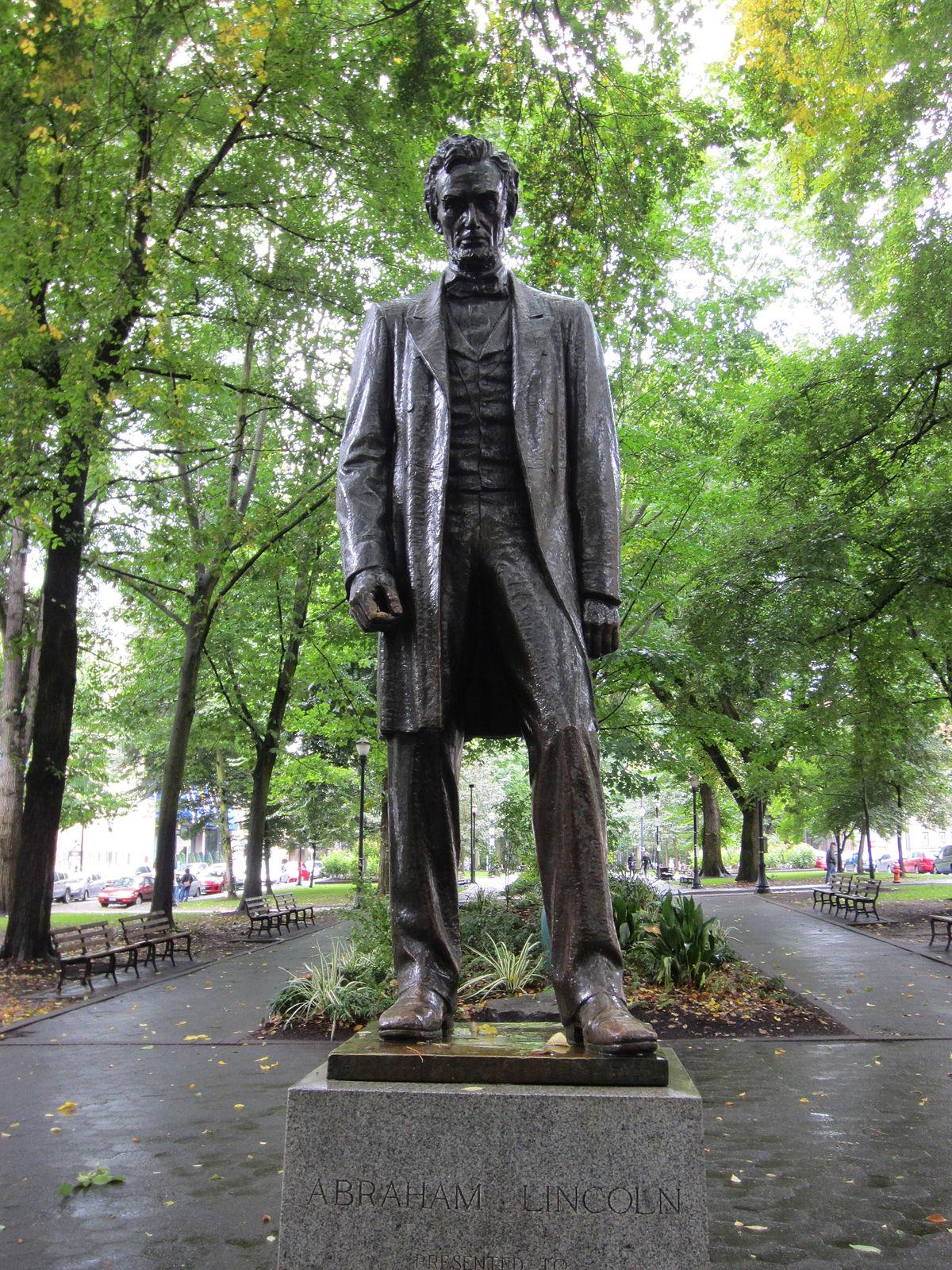 Statue Of Abraham Lincoln Portland Oregon Wikipedia