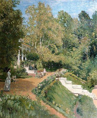 Abramtsevo Colony - Abramtsevo, 1880 painting by Ilya Repin