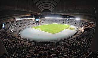 Zayed Sports City Stadium - Image: Abu Dhabi Zayed Sports City Stadium 2