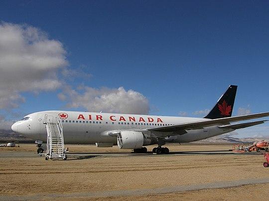 加拿大航空143号航班是一架加拿大航空自蒙特利尔经渥太华飞往埃德蒙