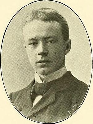 Jens Holmboe (botanist) - Jens Holmboe ca 1900