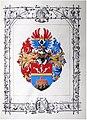 Adelsdiplom - Blažeg von Horstegg 1912 - Wappen.jpg